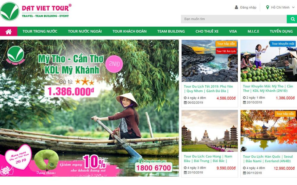 website du lịch việt nam