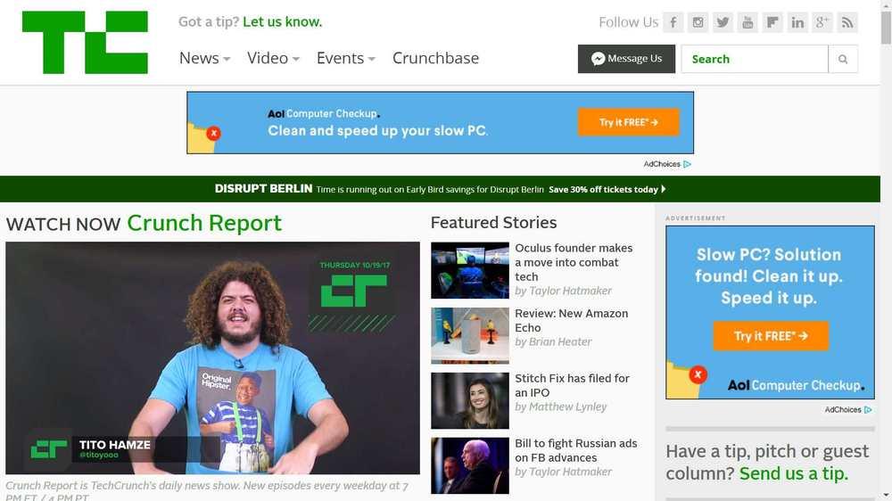 trang web công nghệ