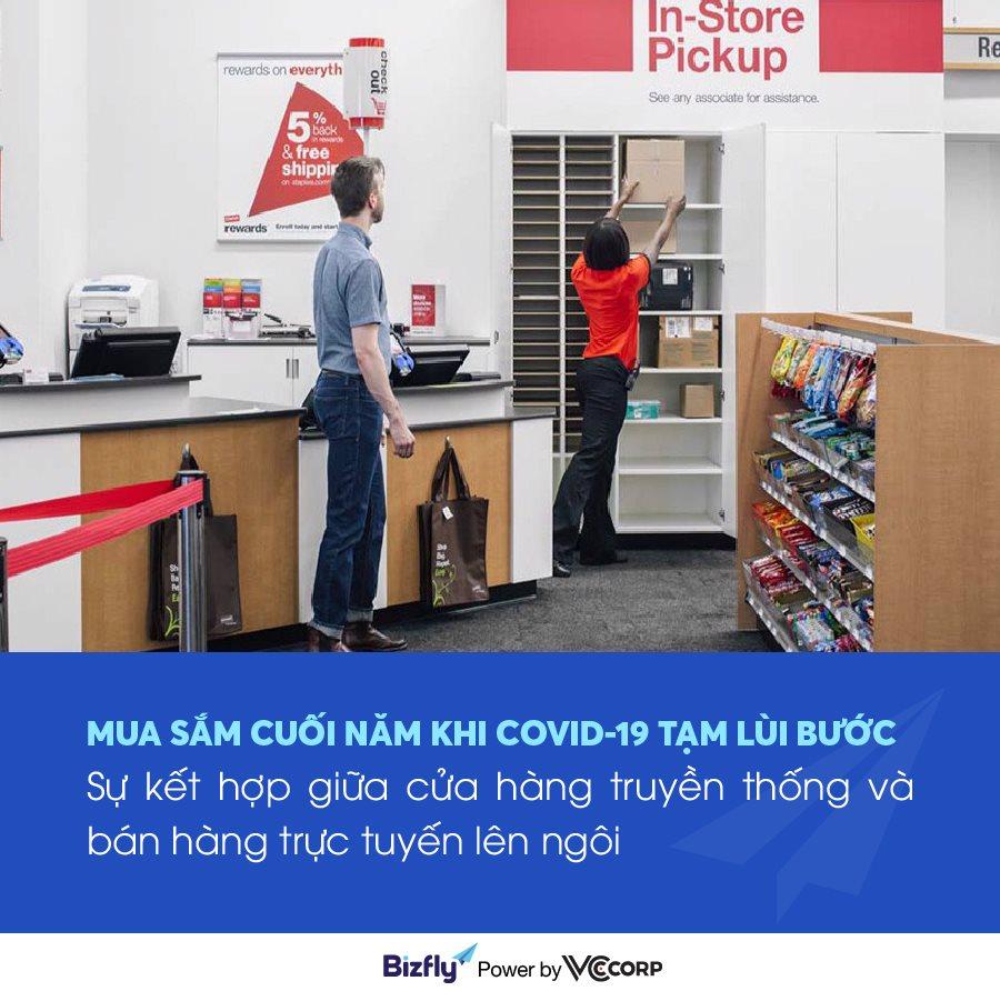Xu hướng mua sắm trực tuyến và trực tiếp