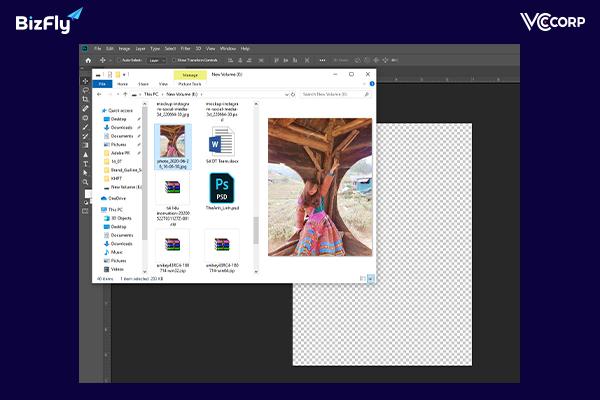 Các bước giảm dung lượng ảnh bằng Photoshop