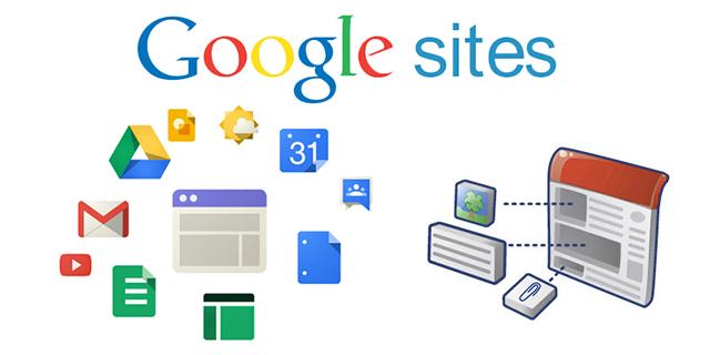 Tạo web miễn phí mãi mãi với Google sites