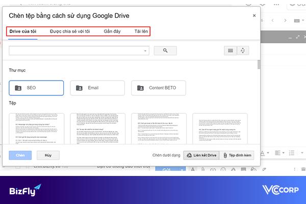 Cách gửi file dung lượng lớn qua email