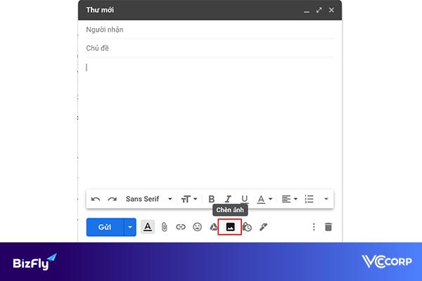 Cách gửi email có file đính kèm là ảnh, video