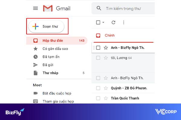 Cách gửi email có file đính kèm là thư mục, tập tin
