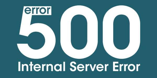 Cách khắc phục lỗi 500 Internal Error
