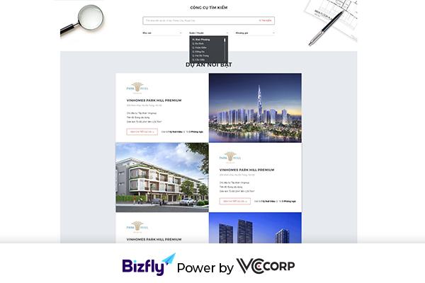Tham khảo 5 mẫu landing page bán hàng đẹp của bizfly