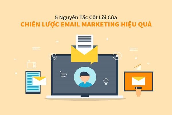 Các nguyên tắc cốt lõi trong các chiến lược Email Marketing