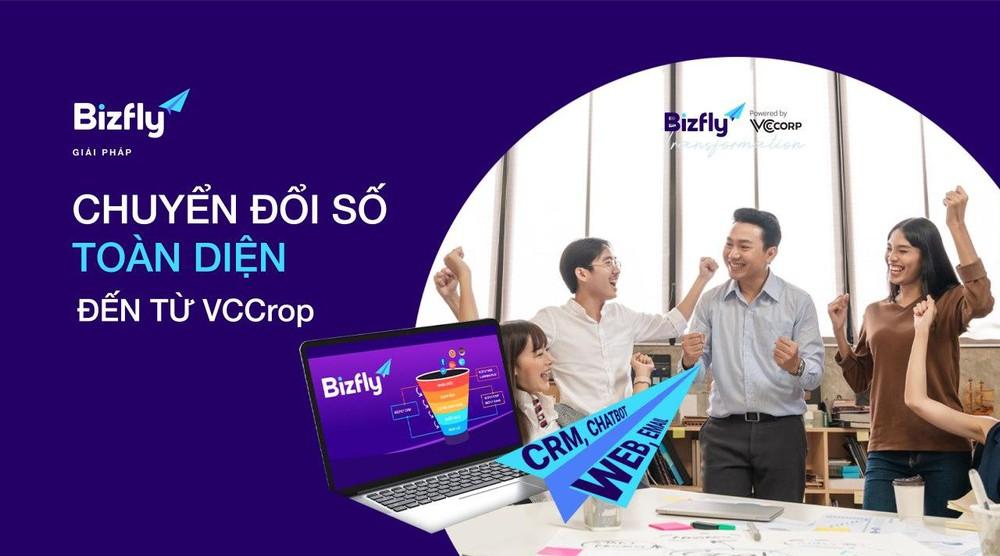 Bizfly hân hạnh đại diện VCCorp tham dự triển lãm Thế giới số cùng các tập đoàn công nghệ hàng đầu thế giới và Việt Nam