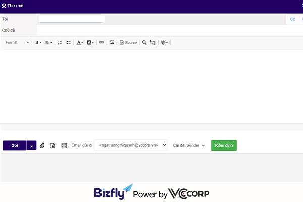 tạo sổ liên lạc điện tử bằng crm và email