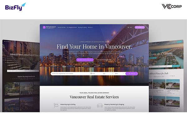 Những lưu ý khi thiết kế website bất động sản?